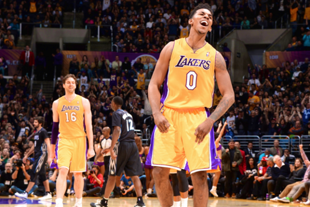 Nick Young Emerging as Key Bright Spot for LA Lakers During Uncertain Season