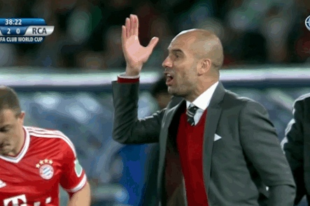 GIF: Manuel Neuer Gaffe Almost Gives Away Goal, Pep Guardiola Shouts at Him
