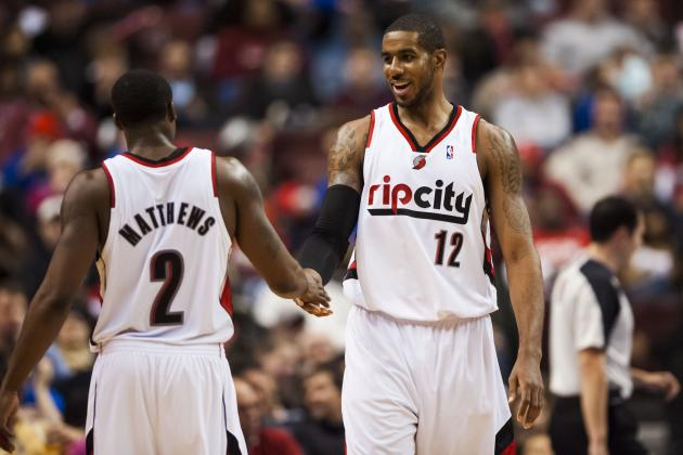 Wes Matthews: 'Unselfish' LaMarcus Aldridge Is 'Best Power Forward in the NBA'