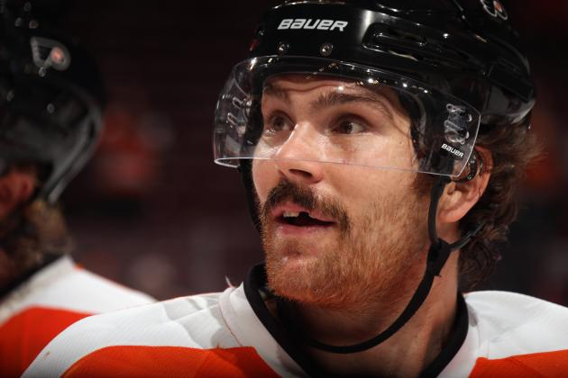 Flyers' Downie Will Miss 7-10 Days