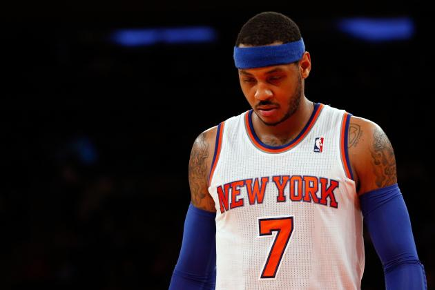 New York Knicks Keep Wasting Carmelo Anthony's Talent