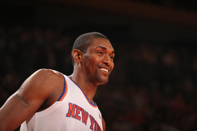 Metta World Peace Says Knicks Have 'Stacked' Roster