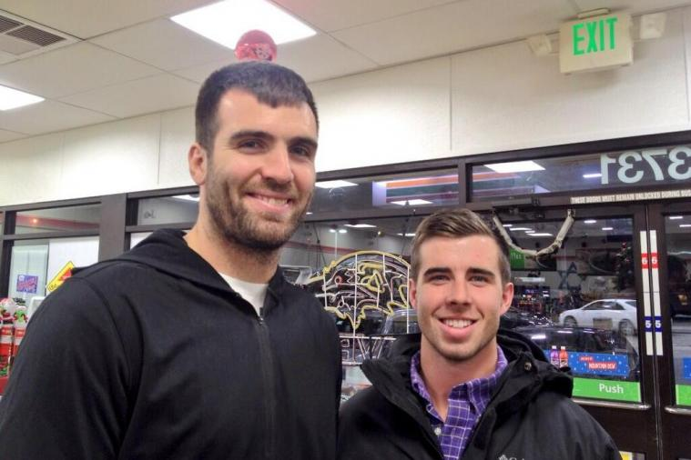 Ravens' Joe Flacco Bought a Mega Millions Lottery Ticket at 7-Eleven