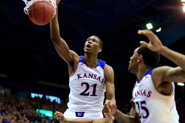 Kansas Big Men Taking Pressure off Andrew Wiggins as Jayhawks Thump Georgetown