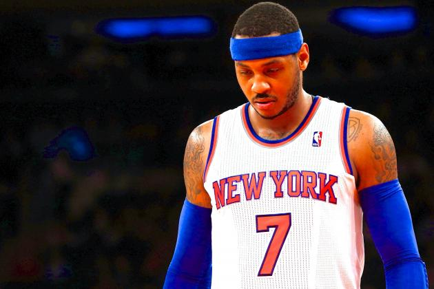 New York Knicks Keep Wasting Carmelo Anthony's Talent