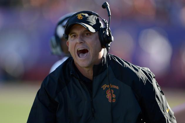 Grading Clay Helton's Performance as USC Interim Head Coach vs. Fresno State