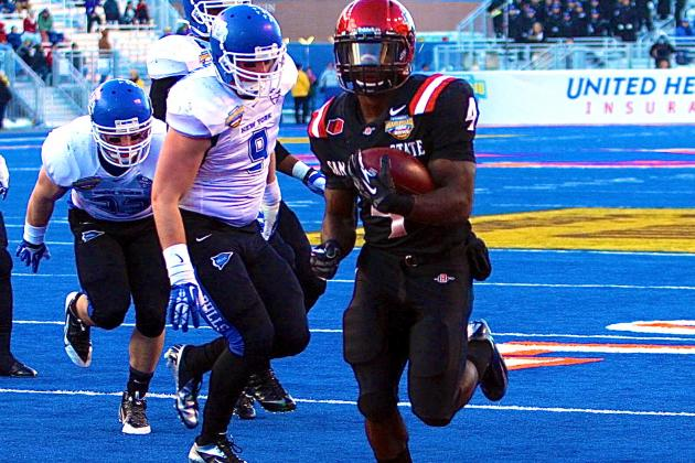Famous Idaho Potato Bowl 2013 Buffalo vs. SDSU: Live Score and Highlights