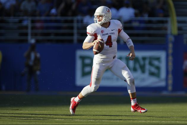 Las Vegas Bowl 2013: Analyzing Performances of Top NFL Prospects in Game