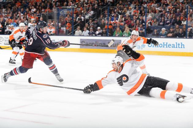 No Late-Game Magic This Time as Flyers Lose to Blue Jackets 6-3