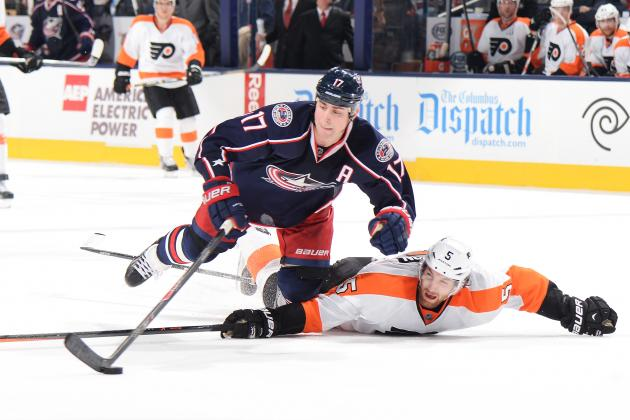 Blue Jackets Top Flyers 6-3