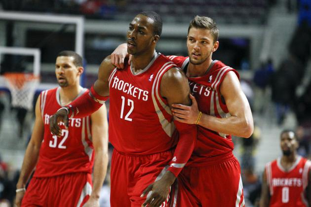 Dwight Howard Shows He Can Carry Rockets with Dominant Performance vs. Pistons
