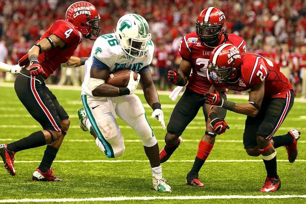 New Orleans Bowl 2013 Tulane vs. LA Lafayette: Live Score and Highlights