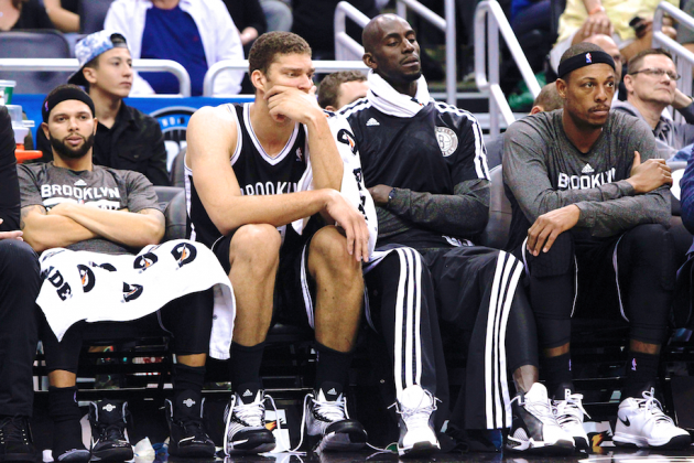 Brook Lopez's Broken Foot Busts Nets' 2013-14 Hopes—Is Pierce Trade Next?