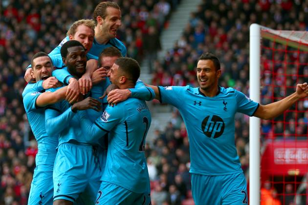 Southampton vs. Tottenham Hotspur: Premier League Live Score, Highlights, Report