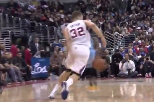 Clippers' Blake Griffin Shows Off His Handles vs. Nuggets