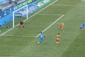GIFs: Goals from Escudero and Lopez Give Getafe Stunning Start vs. Barcelona