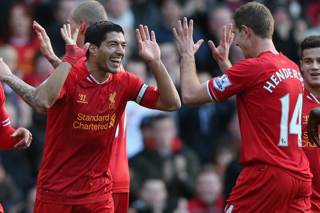 Premier League Week 17 Standout Stats: It's All About Luis Suarez