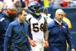 Broncos' LB Von Miller Injures Knee, Set for MRI