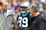 Panthers' WR Steve Smith Felt Knee 'Pop', Set for MRI Monday