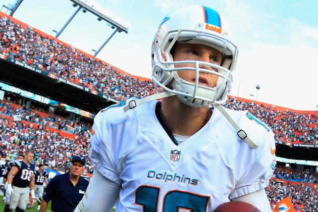 Ryan Tannehill Returns to Game vs. Bills in 4th Qtr