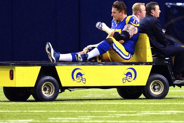 Jake Long Injury: Updates on Rams Star's Knee and Return