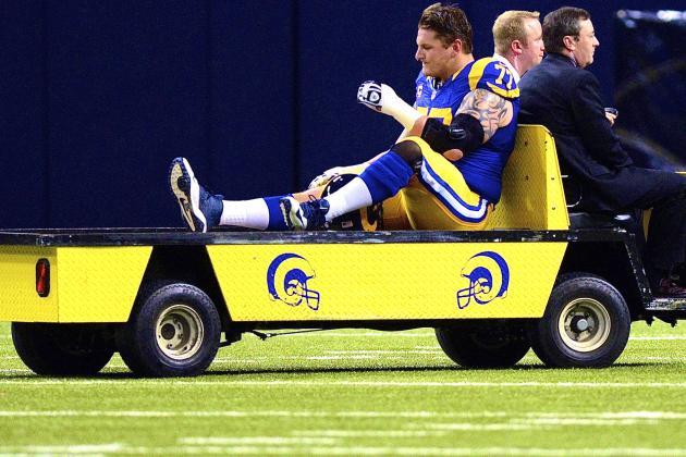 Jake Long Injury: Updates on Rams Star's Knee and Return