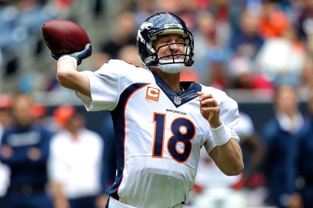 Peyton Ties Brady's TD Record