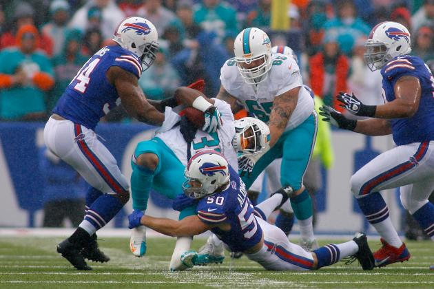 Miami Dolphins vs. Buffalo Bills: Live Grades and Analysis for Miami