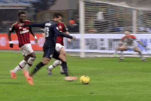 GIF: Rodrigo Palacio Scores Sublime Backheel for Inter to Win Milan Derby