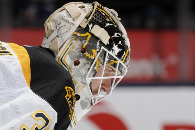 Does Chad Johnson Have a Future with the Boston Bruins Beyond 2013-14?