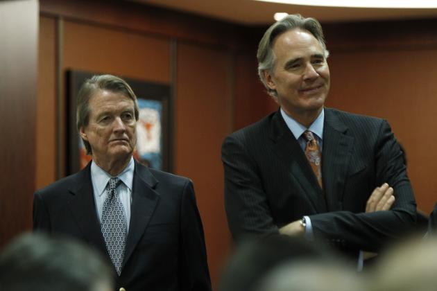 Texas Football: AD Steve Patterson's Holiday Wish List
