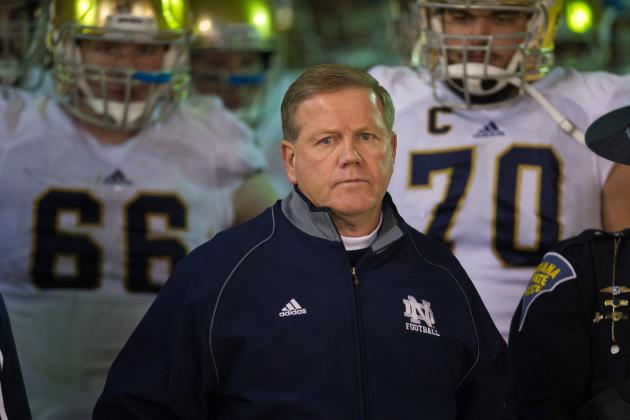Notre Dame Lays Down Scheduling Gauntlet as College Football Playoff Era Begins