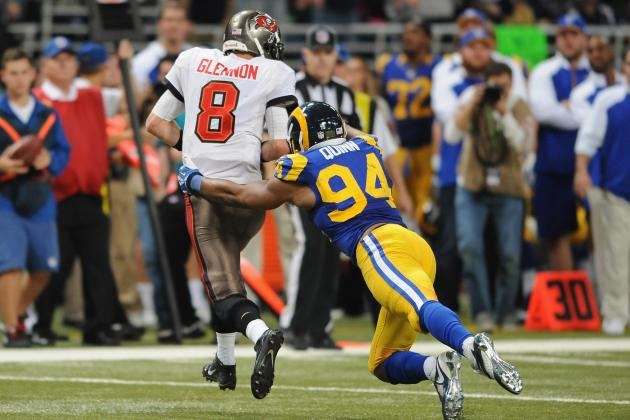 Robert Quinn's Record Setting Day Gets Rams Win over Bucs