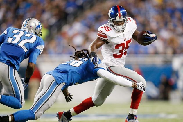 Andre Brown Injury: Updates on Giants RB's Concussion and Return