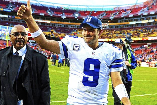 Tony Romo's Performance Saves Dallas Cowboys' Season and Jason Garrett's Job