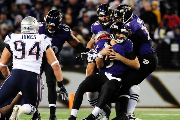 Patriots Strike Early, Roll Past Ravens 41-7