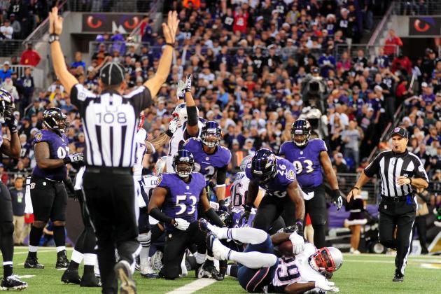 Patriots vs. Ravens 2013 Recap: New England Dominant in 41-7 Win