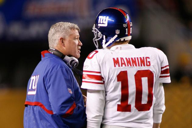 Kevin Gilbride Defends Himself, Has Support of Coughlin, Manning