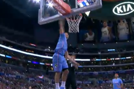 Blake Griffin Fakes Lob, Throws Down Monstrous One-Handed Slam on Ricky Rubio