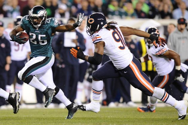 Analyzing LeSean McCoy's Monster Performance vs. Chicago Bears