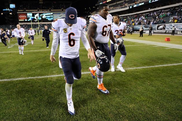Jay Cutler, Chicago Bears Leave Everything on the Line for Week 17