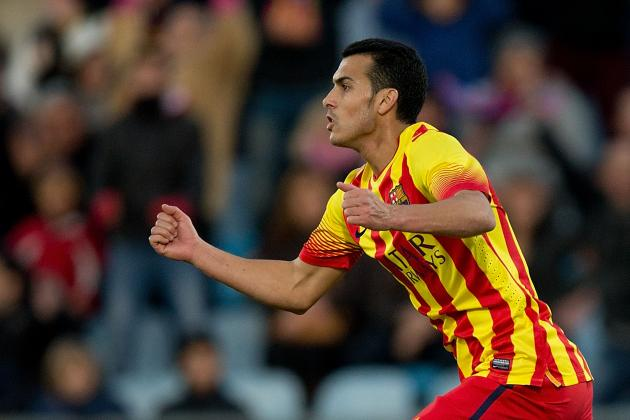 Liverpool Transfer News: Pedro to 'Evaluate' Barcelona Future After Hat-Trick