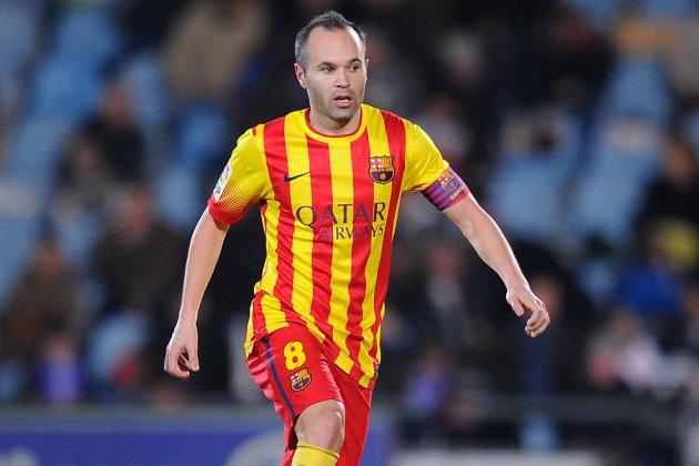 Andres Iniesta and Barcelona Officially Agree to New Contract
