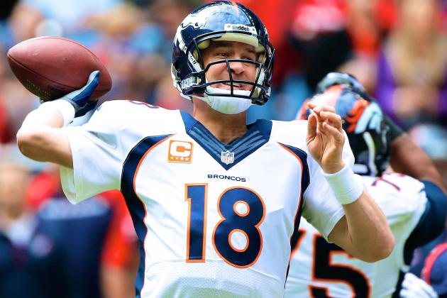 Peyton Manning Breaks Tom Brady's Single-Season TD Record