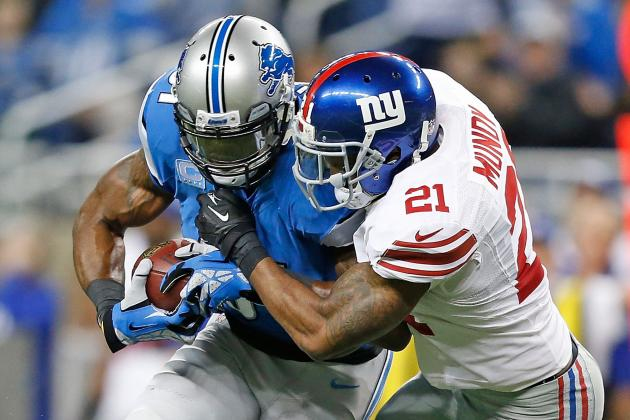 Calvin Johnson Shut Down by Giants: Who Gets Credit, Who Gets Blame