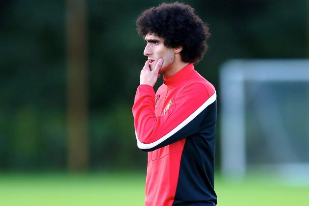 Marouane Fellaini Injury: Updates on United Star's Wrist, Back and Return
