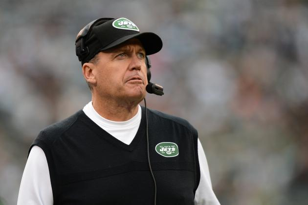 Rex Ryan, Jets Players Discuss Report Coach Believes He's Fired