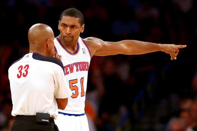 Metta World Peace on Knicks Curfew: 'I Didn't Know We Had a Curfew'