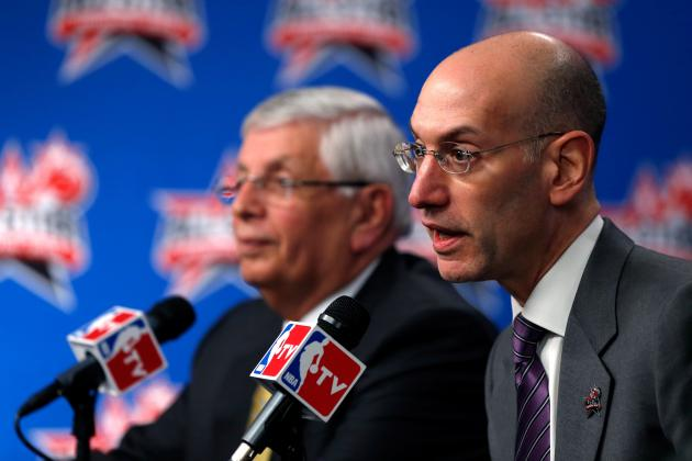 David Stern's Signature Replaced with Adam Silver's on NBA Basketballs