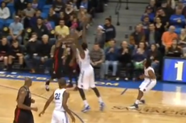 D-Leaguer's Miracle Buzzer-Beater